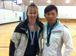 Even the physios got medals